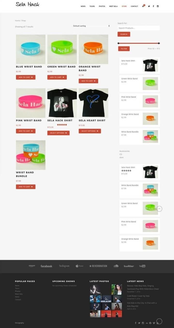 Sela WebStore