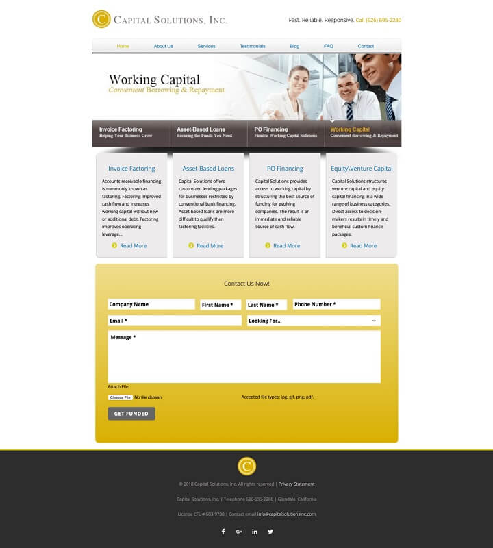 Capital Solutions Inc.